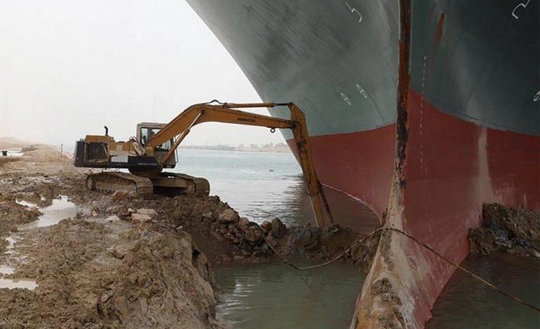 Cargo Ship Suez Canal 2021