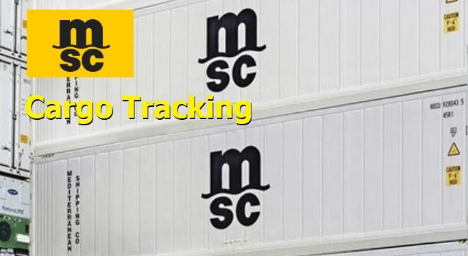 MSC Cargo Tracking