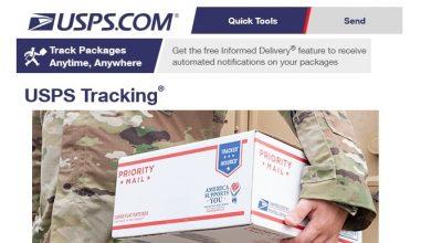 Photo of USPS International Tracking